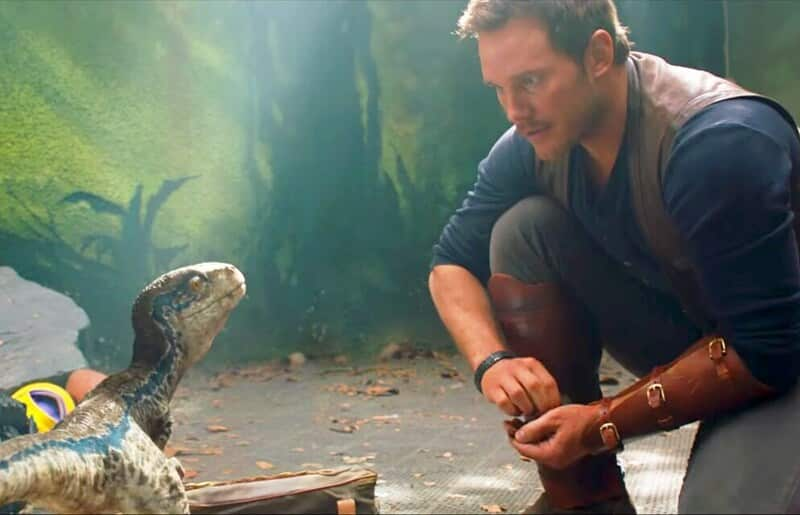 Jurassic World Fallen Kingdom Owen and Blue